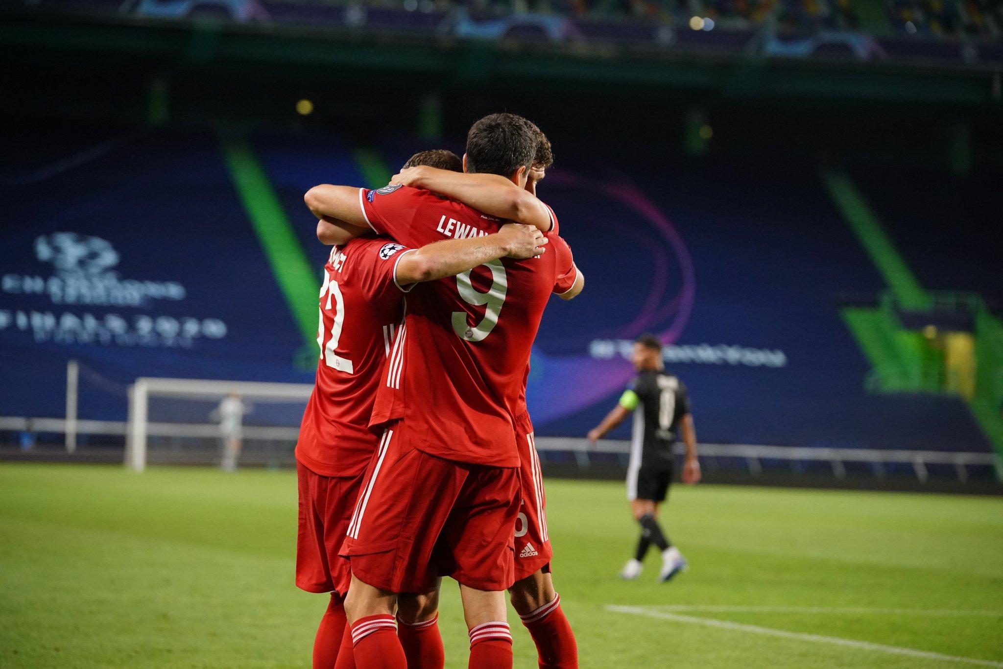 Bayern Múnich avanza a la final de la Champions League, tras vencer 3-0 a Lyon