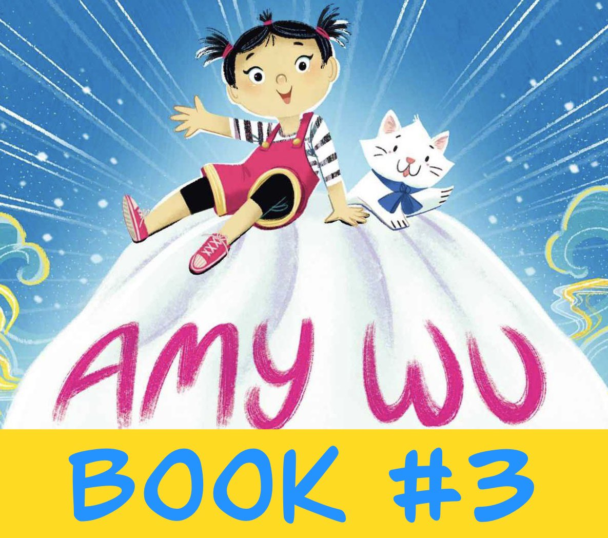 Super excited to share this - AMY WU is going to have a 3RD book! Look forward to this new adventure in 2022!  #kidlit @KatZhang @TracyMarchini @EmMorgen @SimonKIDS @SimonTeenCA #kidlitart #ChildrensBooks #picturebook https://t.co/hks52GZM8q
