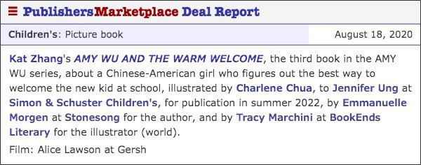 Ahhh!! I'm so excited to share that there will be a THIRD Amy Wu book!! I'm so excited to be working with @charlenedraws and @JenPanda again :D https://t.co/eM5XzVV004