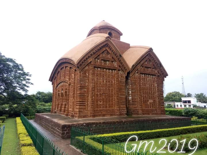 Jor Bangla Temple, Bishnupur,  West Bengal  @incredibleindia  @tourismgoi  #YehiMeraIndia #WorldPhotographyDay https://t.co/LeXwzUCLdb