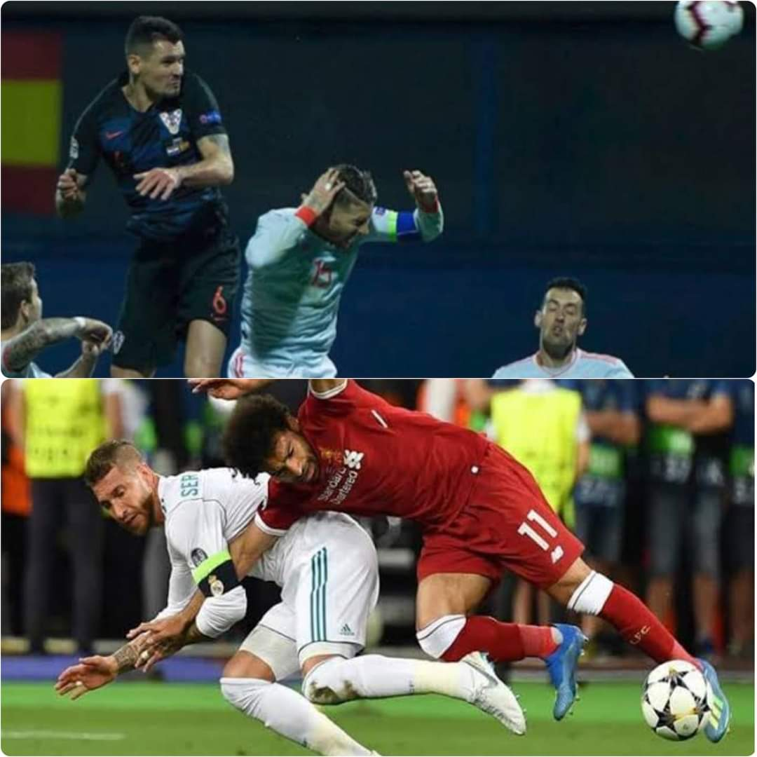 Dejan Lovren: Yes, I deliberately hit Ramos with the elbow during the Spain and Croatia match, because he deliberately injured my friend Salah in the Champions League final, so it is time to pay the price for what he did.