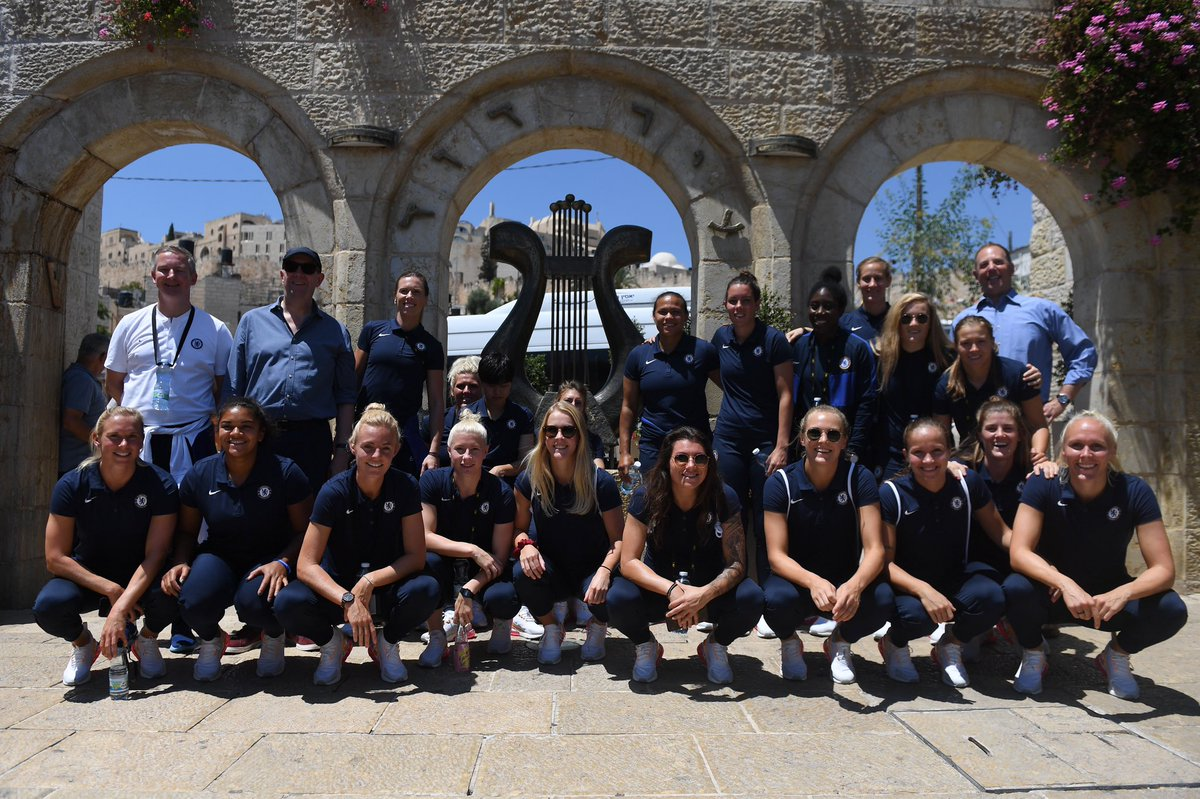 One year ago today, the Blues visited Jerusalem as part of our pre-season tour in Israel! 🇮🇱   An unforgettable experience! 💙 https://t.co/6Cq44HPkMX