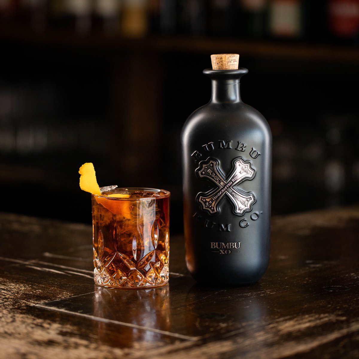 Ask your bartender for a #BumbuXO old fashioned. Trust us.
