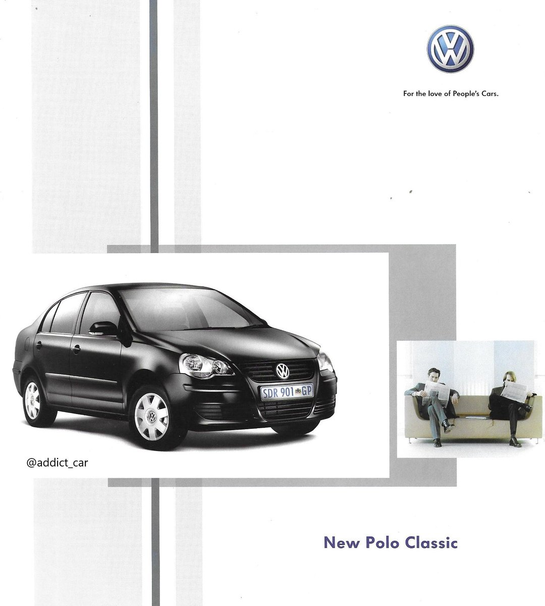 Carbrochureaddict On Twitter Hatchback Based Four Door Saloons Have An Enduring Popularity In Many Parts Of The World The Vw Polo Classic In This 2005 South African Brochure Was A Locally Built Booted Version Of