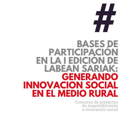¿Tienes un proyecto de #emprendimientosocial que quieras desarrollar en las zonas rurales de las comarcas de Enkarterri, Montaña alavesa y/o Añana? #LabeanSariak son para ti  https://t.co/LMBw7TNGtN  #Labean #LabeanEuskadi @hazifundazioa @coworking_soria @enkarterrialde @AnanaAdr https://t.co/3cNrsHJt8p