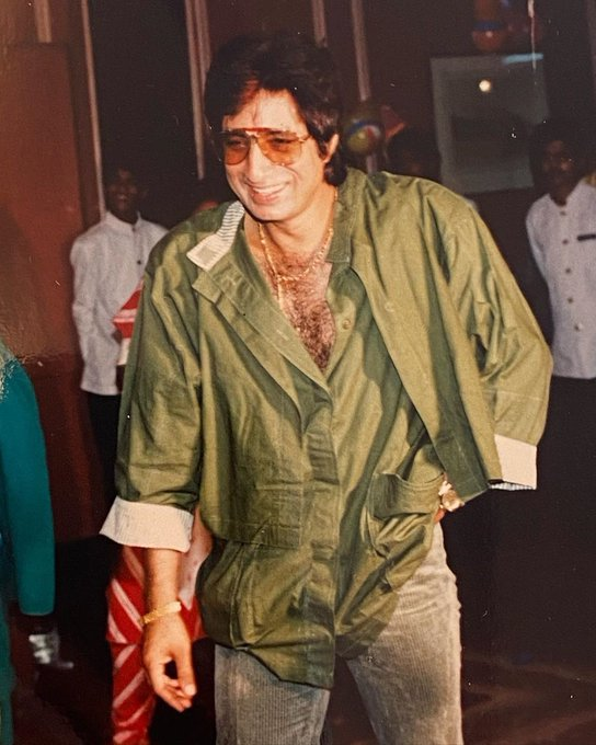 Birthday Baapu!🎉 #ShaktiKapoor  Happy birthday to my precious Baapu!  Thank you for being my Superhero