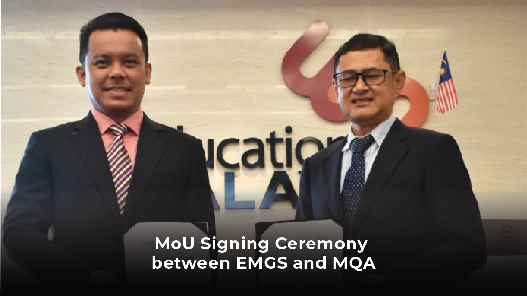 Official Education Malaysia Global Services On Twitter The Mou Signing Ceremony Which Was Held On 15 April 2020 Was Signed By Both Chief Executive Officers Ceo Mr Mohd Radzlan Bin Jalaludin Ceo
