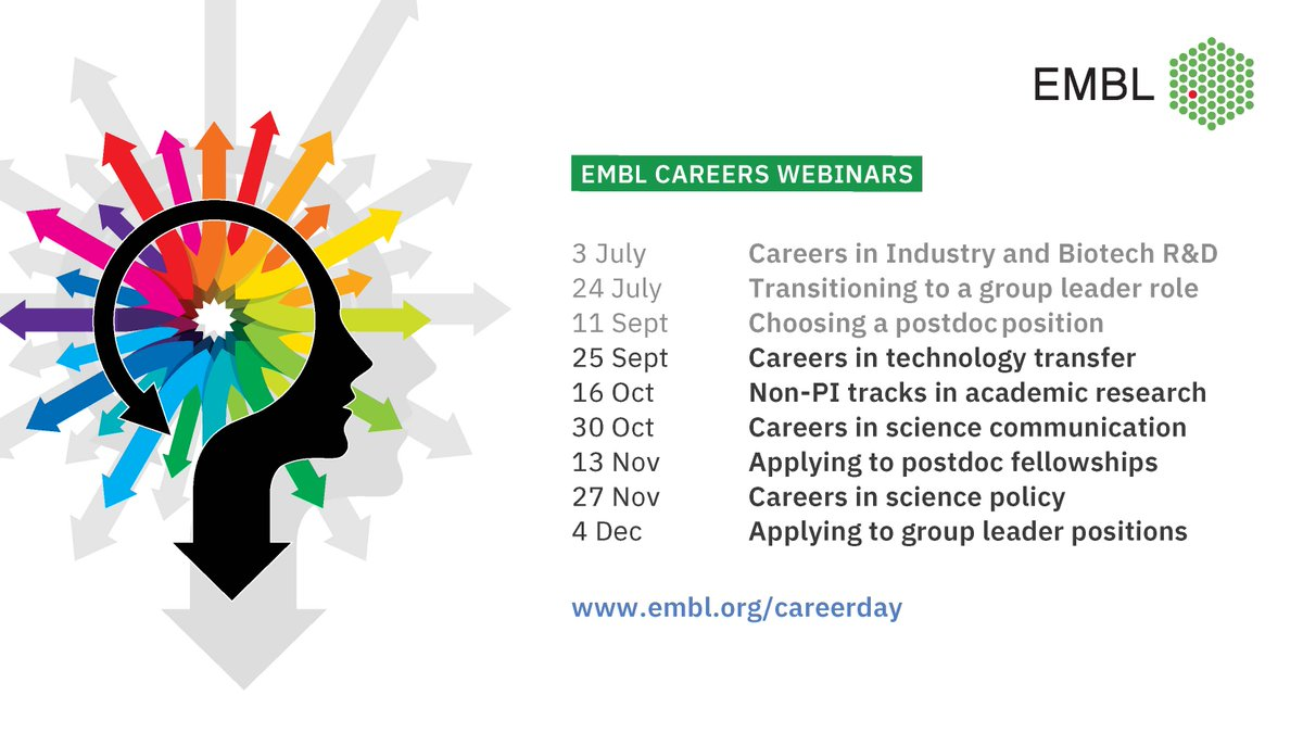 🗣️ Interested in technology transfer & intellectual property careers?  Join our panelists @alexestecho from @lifearc1 & Jonathan Rameseder from @EPOorg.  🗓️25th September ⏲️11:00-12:00 CEST  Register here: https://t.co/9V5nRyEwqQ  RT appreciated 🙏 https://t.co/X5ASDh5Gsg