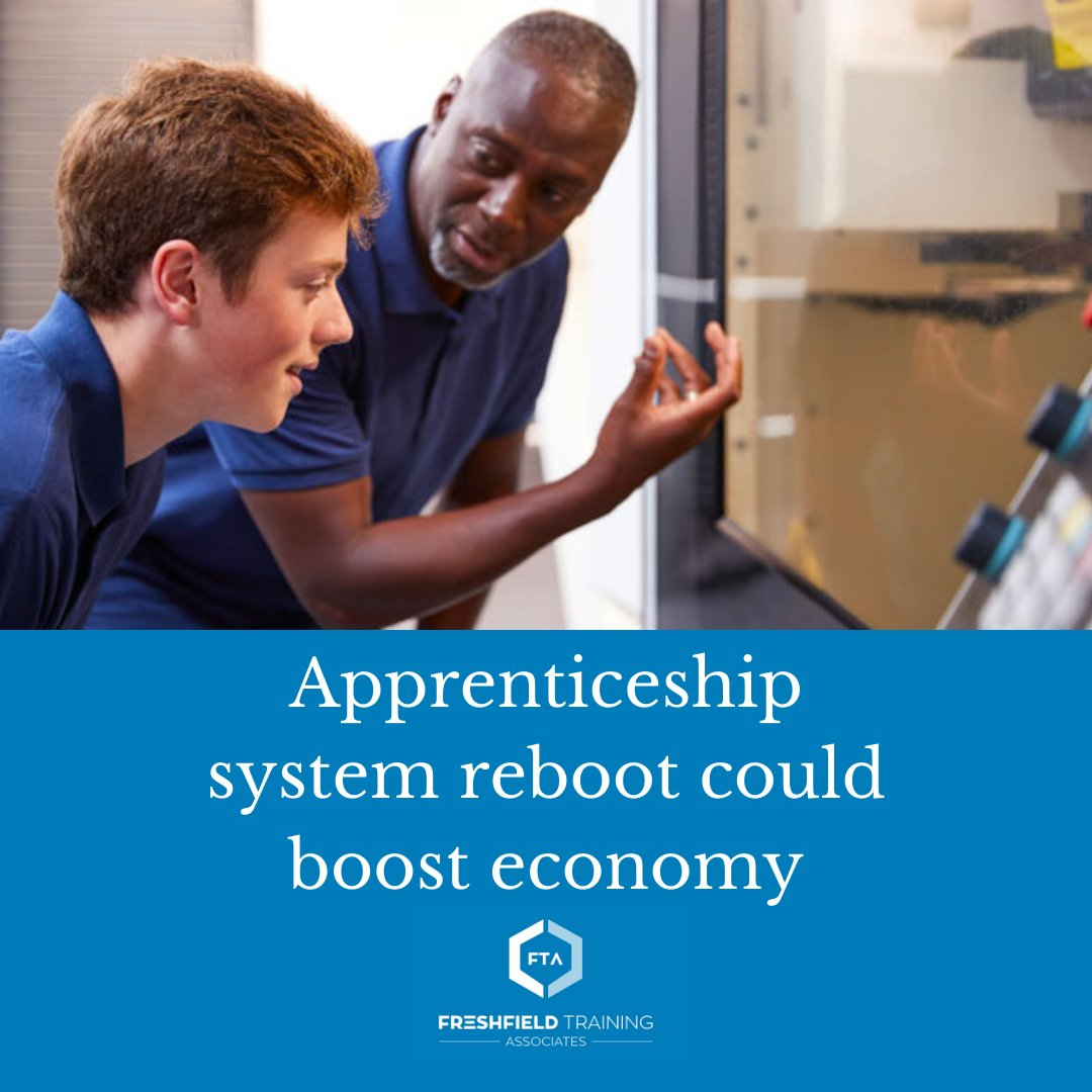 The apprentice system requires a reboot to help it and the wider economy recover from the Covid-19 pandemic and to offer more disadvantaged young people ways to gain skills and a route into employment.  Read more: https://t.co/HtfHhiG66G https://t.co/yAy5RNDEGB