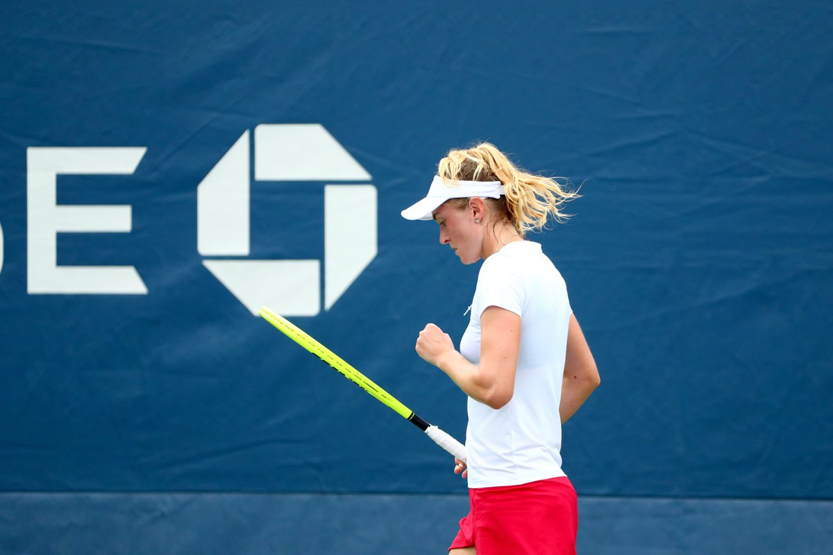 How Sasnovich ousted No. 12 seed Vondrousova in straight sets: https://t.co/HlpU3M412s  Another darkhorse in the draw?  #USOpen https://t.co/BtTeGHoqkK