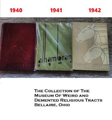 Artifacts from the Museum's Collection: Jack Chick's High School Yearbooks  here https://t.co/GEtqnbuLVQ  Museum's archive https://t.co/yzZOVT4Moq @ZazousLes  #MuseumFromHome  #MuseumsUnlocked #artshare  #obscurantism https://t.co/jcr1ny17qQ