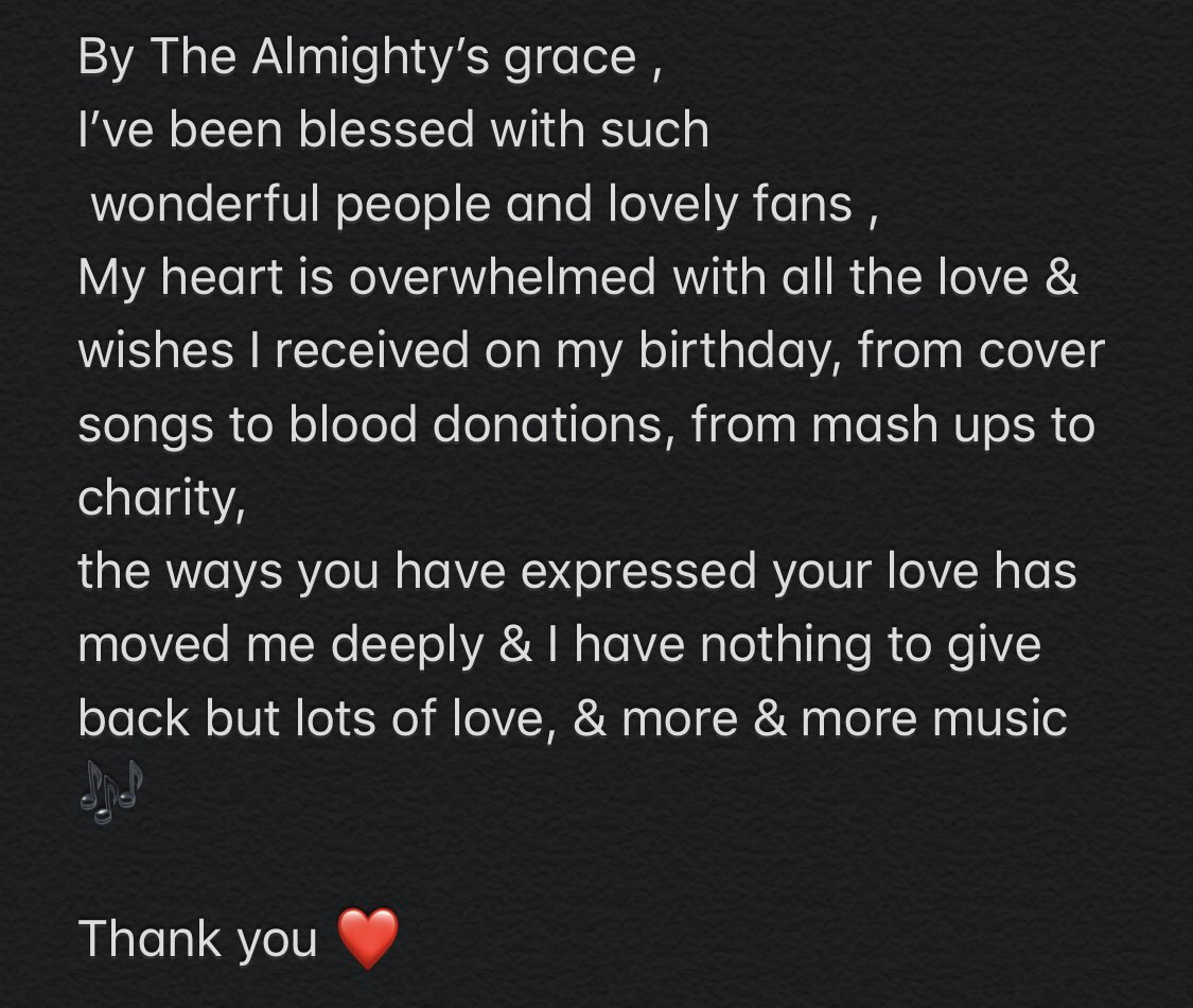 Thank you ❤️ https://t.co/afiv3NZQjv