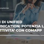 Image for the Tweet beginning: #UnifiedCommunication per #PMI: quali sono