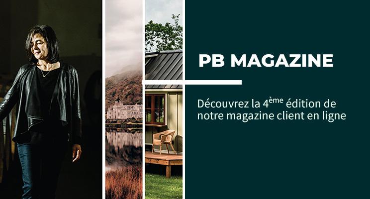 #Economie #RSE #Voyage #Lifestyle #Art… Points de vue et tendances, à découvrir dans la quatrième édition de notre magazine PB. https://t.co/Rlf8iRAUne https://t.co/y9g0eyBD77
