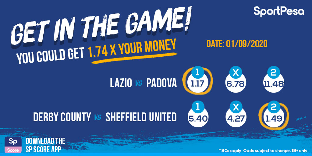How about a multi play on today's #internationalfriendly action? You could get 1.74 x your money with a play on Lazio and Sheffield United to win! ➡️ https://t.co/02W0kHmgpq https://t.co/jZQ5XTCqab
