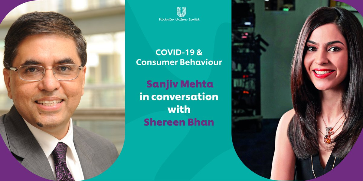 From #digitisation and #remoteworking to prioritising #hygiene and #sanitation, our Chairman & MD, Sanjiv Mehta lends his insights on the road ahead of the #pandemic, in conversation with @ShereenBhan on @CNBCTV18News Watch here https://t.co/bIIAvUHiAz #ConsumerBehaviour #COVID19 https://t.co/4VIJlp4PA4