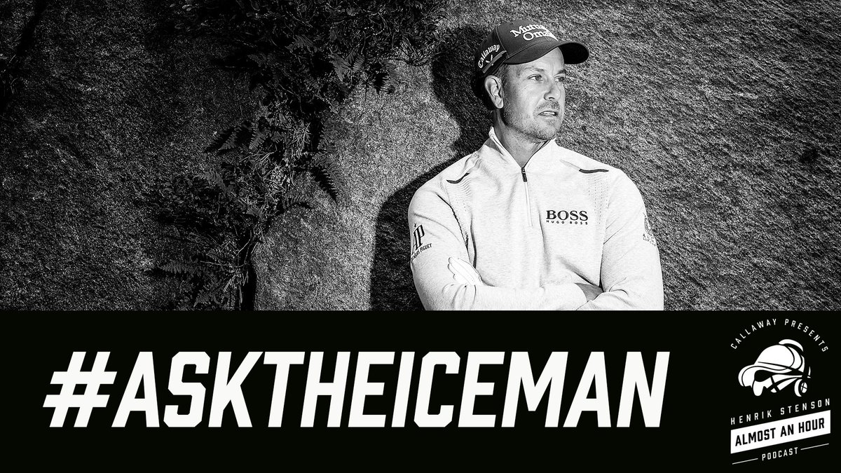 It's that time again...ask me ANYTHING with the chance to feature on my podcast! @CallawayGolf #AskTheIceman https://t.co/MbSII5UyLF