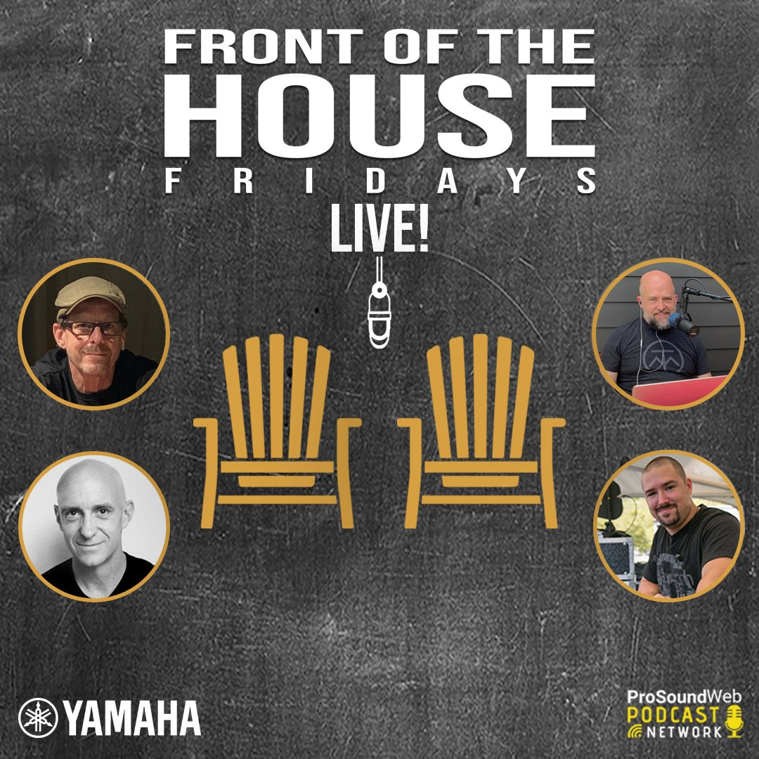 At 5pm PT today on ProSoundWeb, catch FOH engineer Tim Holder, and DPA Microphones' Global Sales Support/Business Development Manager, Paul Andrews, with co-hosts Russ Long and Chris Leonard! #yamaha #audioengineer #proaudio   https://t.co/PwO6WOp4IK  https://t.co/YAFgKzXjE3 https://t.co/ZgkjEP6wVz