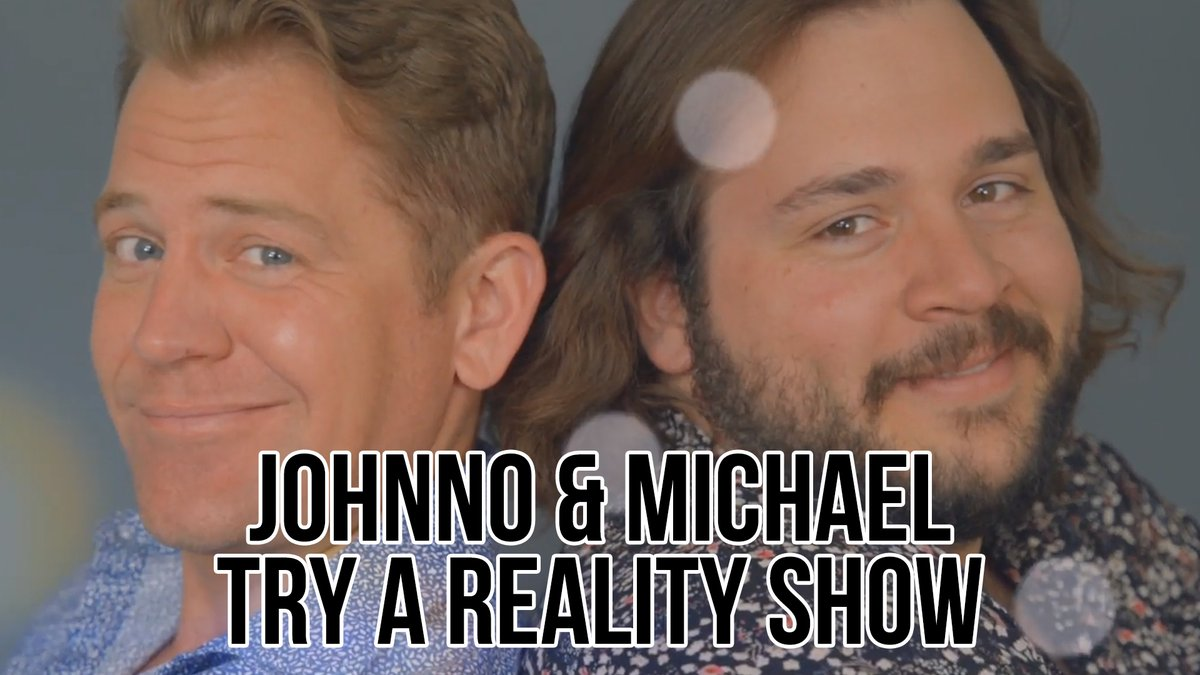 Replying to @funnyordie: . @Johnno_Wilson and Michael try having their own reality TV show... what could possibly go wrong?