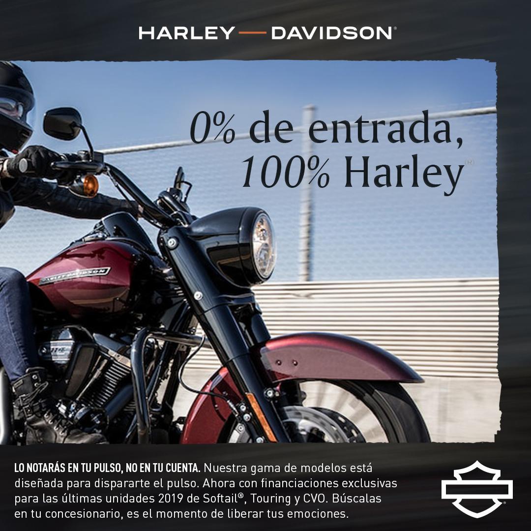 No dejes para mañana lo que puedas hacer hoy.  Aprovecha el momento. Ahora puedes hacerte con una Harley sin tener que dar una entrada.   👉 https://t.co/dRuSN70GWr  #FindYourFreedom  #LiveYourLegend  #FreedomMachine #HarleyDavidson https://t.co/Nvl8kpmuvI