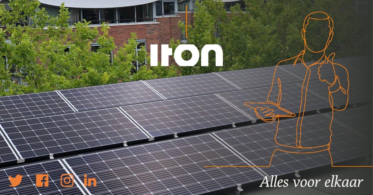 Vandaag is het in Nederland de 𝗗𝗮𝗴 𝘃𝗮𝗻 𝗱𝗲 𝗗𝘂𝘂𝗿𝘇𝗮𝗮𝗺𝗵𝗲𝗶𝗱. Ook bij ITON zijn we met duurzaamheid bezig. Zo ligt ons hele kantoorpand vol met zonnepanelen.  #dagvandeduurzaamheid #zonnepanelen #duurzaamheid https://t.co/svpll9aJfy