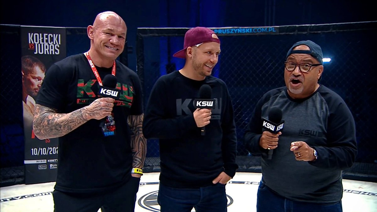A pleasure hosting #ksw54 this weekend with Kryzstof Sosynski. A real honor to meet him and hear some amazing stories from the IFL, Strikeforce, and earlier UFC days- somewhere in there shark tanks at Team Quest too ; ). Absolutely one of those guys who helped build this sport. https://t.co/KlVN7HPYK7