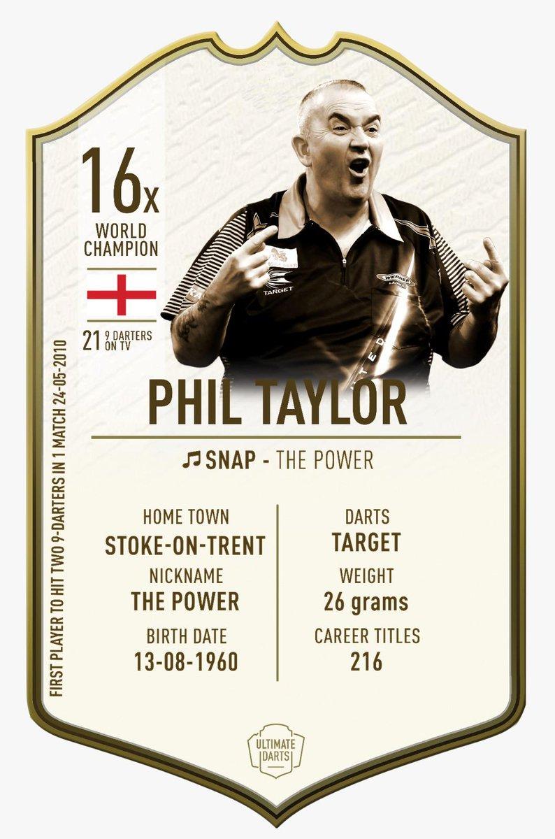 Phil Taylor @PhilTaylor