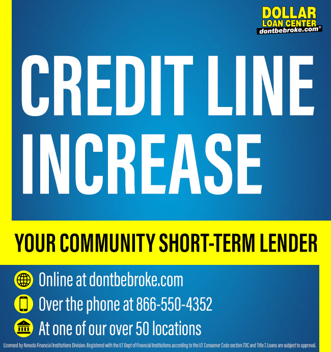 #DLCAdvantage Get you credit line increase on your next visit to Dollar Loan Center. https://t.co/g3kigRTpoe