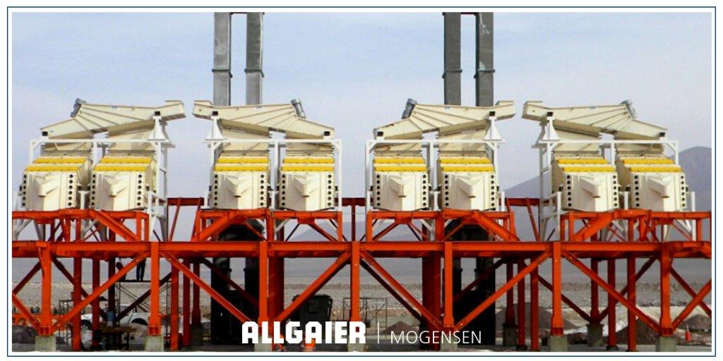 Con nuestras marcas principales Allgaier, Mogensen, Gosag y Mozer, diseñamos y desarrollamos #sistemas e instalaciones para el lavado, secado, refrigeración, cribado y clasificación #industrial de productos a granel de todo tipo.  Conoce nuestros procesos: https://t.co/x8Din8ue1V https://t.co/Ob6ptuG8LP