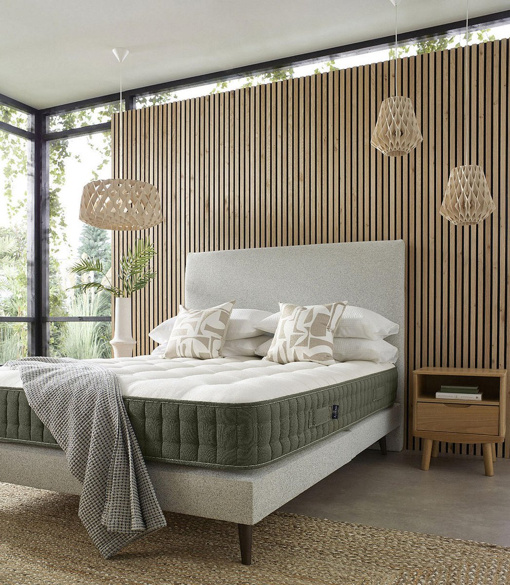 The secret to a peaceful night's rest? Introducing our new vegan friendly and fully recyclable EcoMattress™ 🛏️ 😴  Designed with sustainability at the forefront alongside the ultimate comfort and support. #JLHome https://t.co/7IOWyxFuX9 https://t.co/xe6lkCeJoE