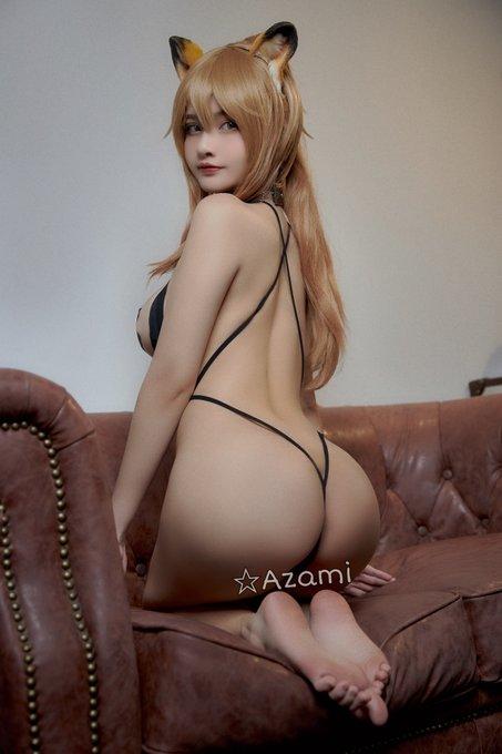 コスプレイヤーAzamiのTwitter自撮りエロ画像38