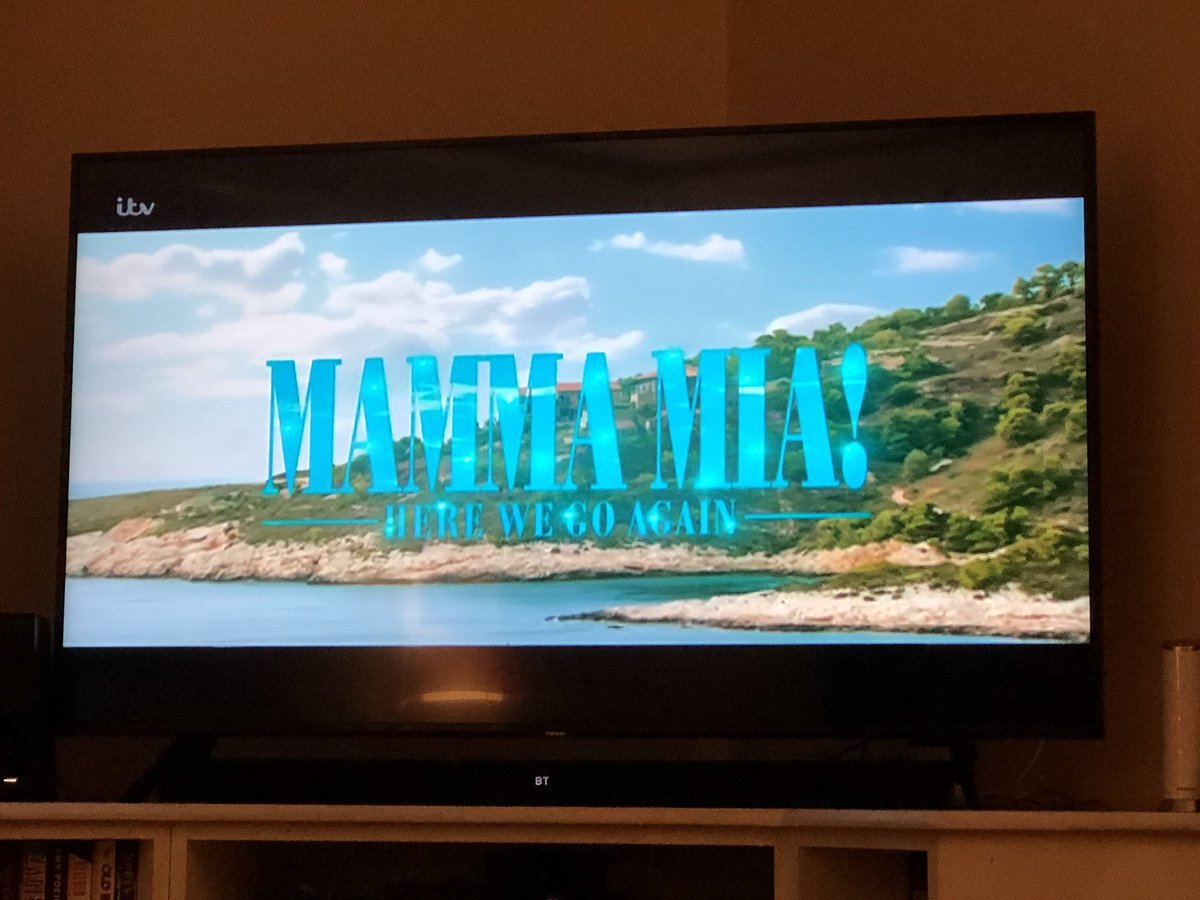 Tonight. Just this. Every song, every word. ❤️😃😢 #mammamia2