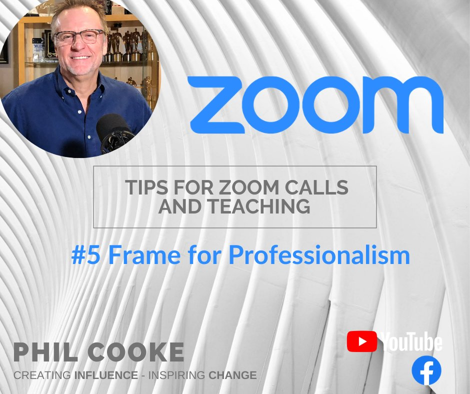 Frame your zoom call like a pro! Here's a 60-second tip from Hollywood producer and media consultant @PhilCooke  https://t.co/ZY8nxB6uHh #zoomtips #zoomprofessional #zoomsetup https://t.co/QaITURO1kO