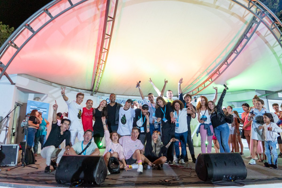 We want to thank you all the brave artists, songwriters and music producers who were part of the Black Sea #Eurovision Songwriting Camp 2020!  The event was organised by Ligna Studios with the creative support of Entiendo, Symphonix and Ostereo. https://t.co/EHcbUKF7U4