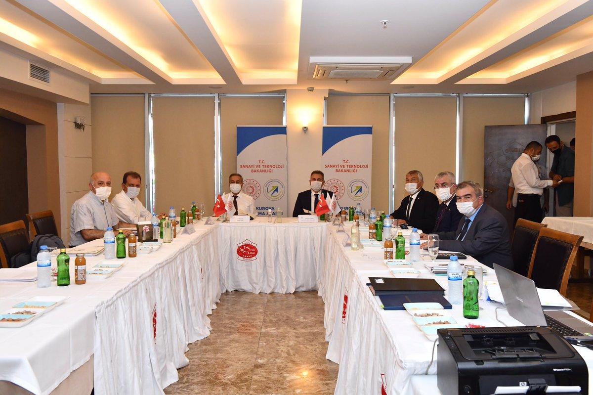 Çukurova Kalkınma Ajansı Yönetim Kurulu Toplantısı Mersin'de gerçekleştirildi https://t.co/j2Dm6TwZEh