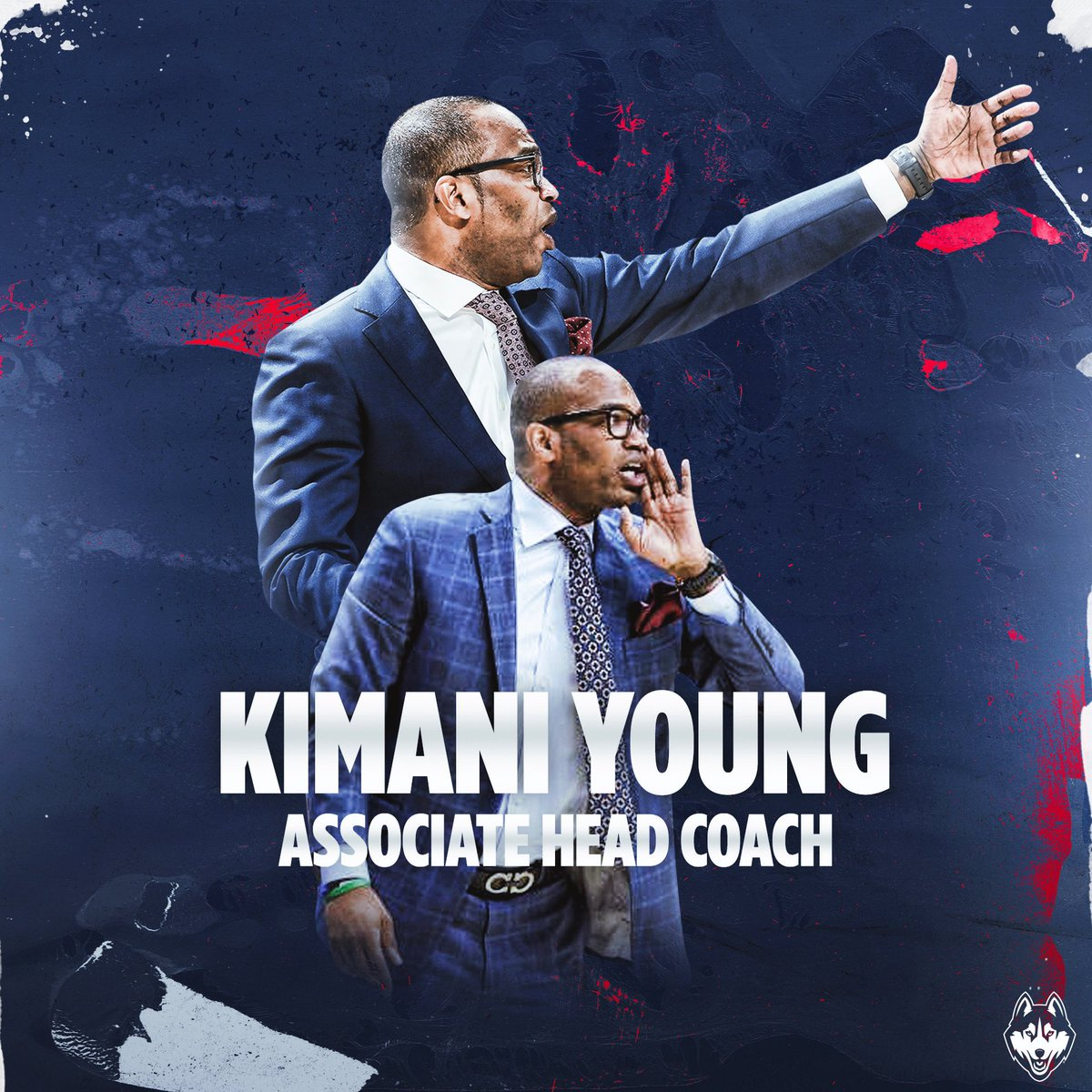 Congratulations to @CoachKimani on his promotion to 𝐀𝐬𝐬𝐨𝐜𝐢𝐚𝐭𝐞 𝐇𝐞𝐚𝐝 𝐂𝐨𝐚𝐜𝐡. Well deserved‼️⁣ #ThisIsUConn