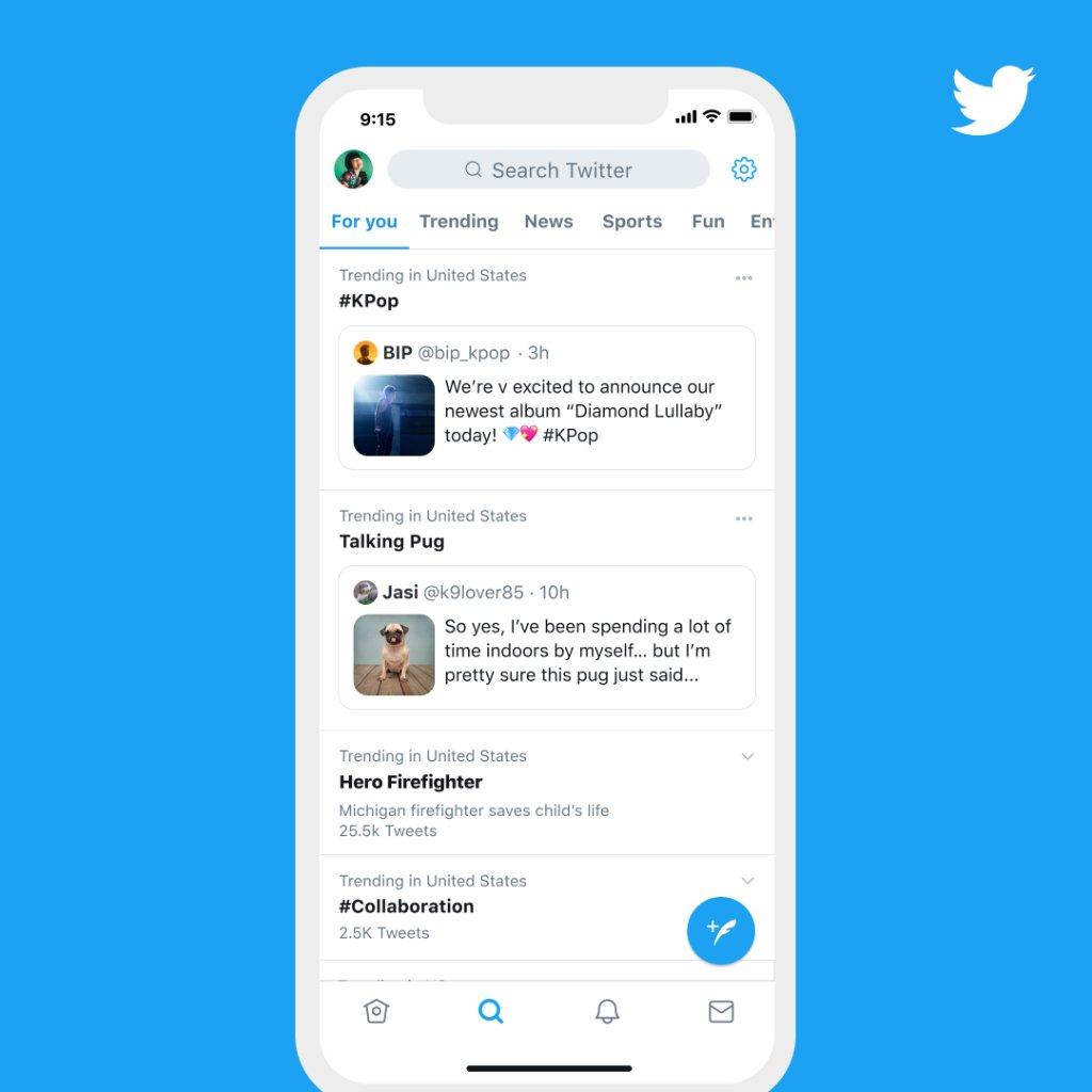Twitter Support auf Twitter