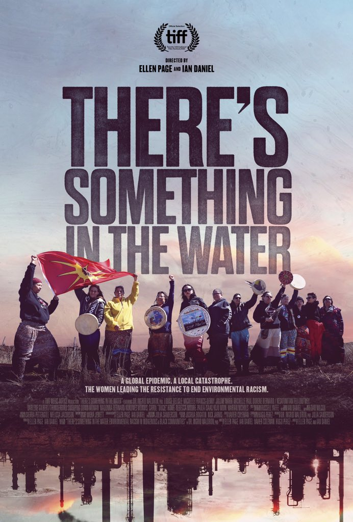 Our doc There's Something in the Water is now avail on @AppleTV @PrimeVideo & other platforms! It's about environmental racism in Canada & the women leading the resistance. LINK IN BIO @ianjdaniel @ingrid_waldron @DelisleLouise @Mikmaq_Michelle @ndngrandmother @Mpaulmikmaq