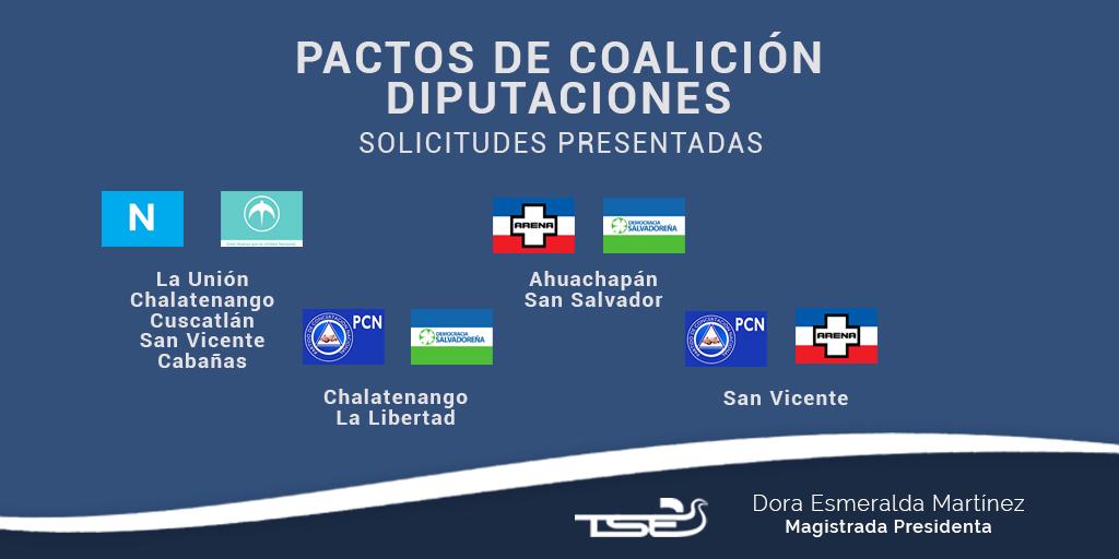 TSE recibió 91 solicitudes de coaliciones para elecciones 2021