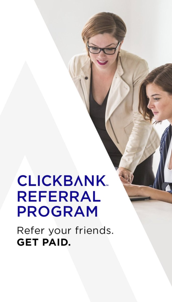 Welcome to our new & improved ClickBank Referral Program!  Refer friends & Get paid!!   To learn more visit: https://t.co/Bm2Bwmn41k https://t.co/s6akmiVkC3