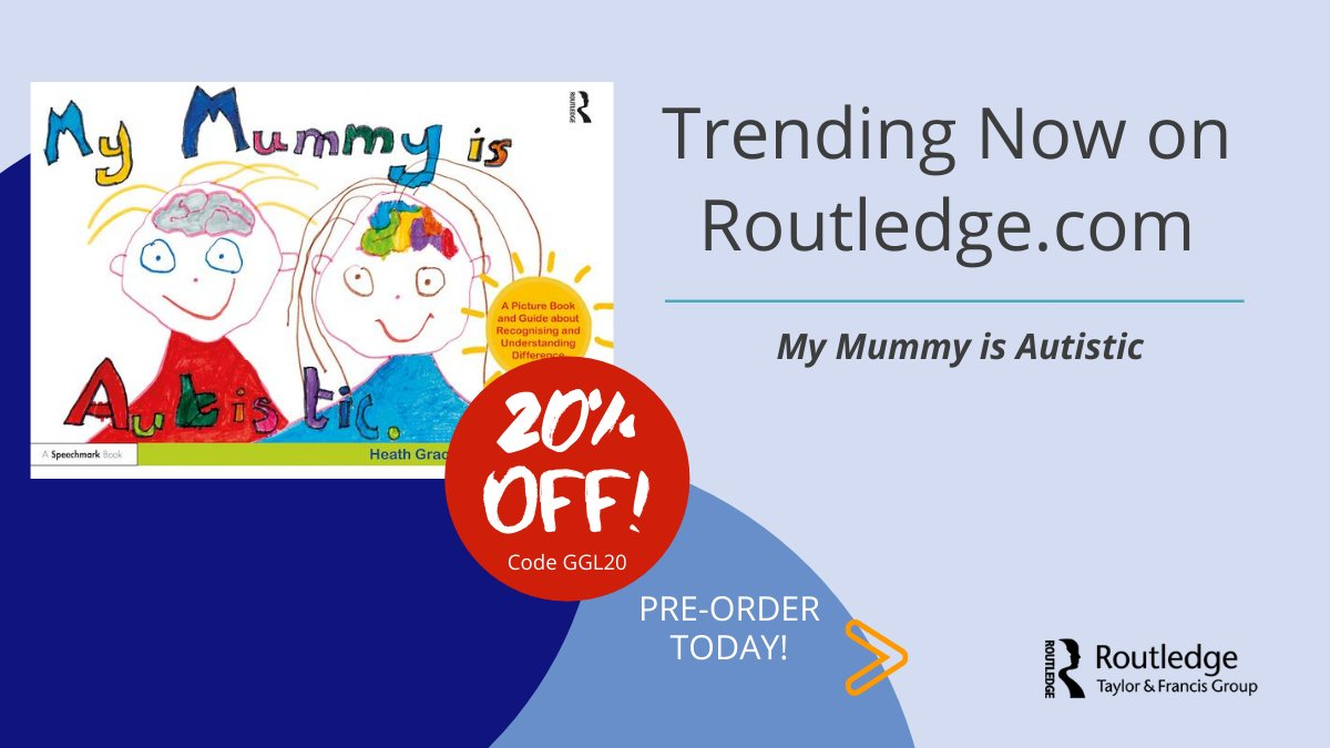 "Trending now on https://t.co/MW8Rch075A ""My Mummy is Autistic"" Pre-order and use Code GGL20 for 20% off https://t.co/hQ7WGkaVsS https://t.co/ikzOKM9qO1"