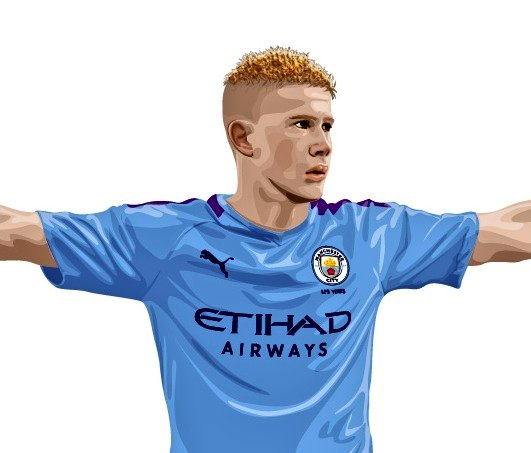 Just the 20 assists & 13 goals last season. Players player of the season, of course. Our absolutely fabulous @DeBruyneKev  #ManCity #KDB #KevinDeBruyne https://t.co/WPap5vyBDM
