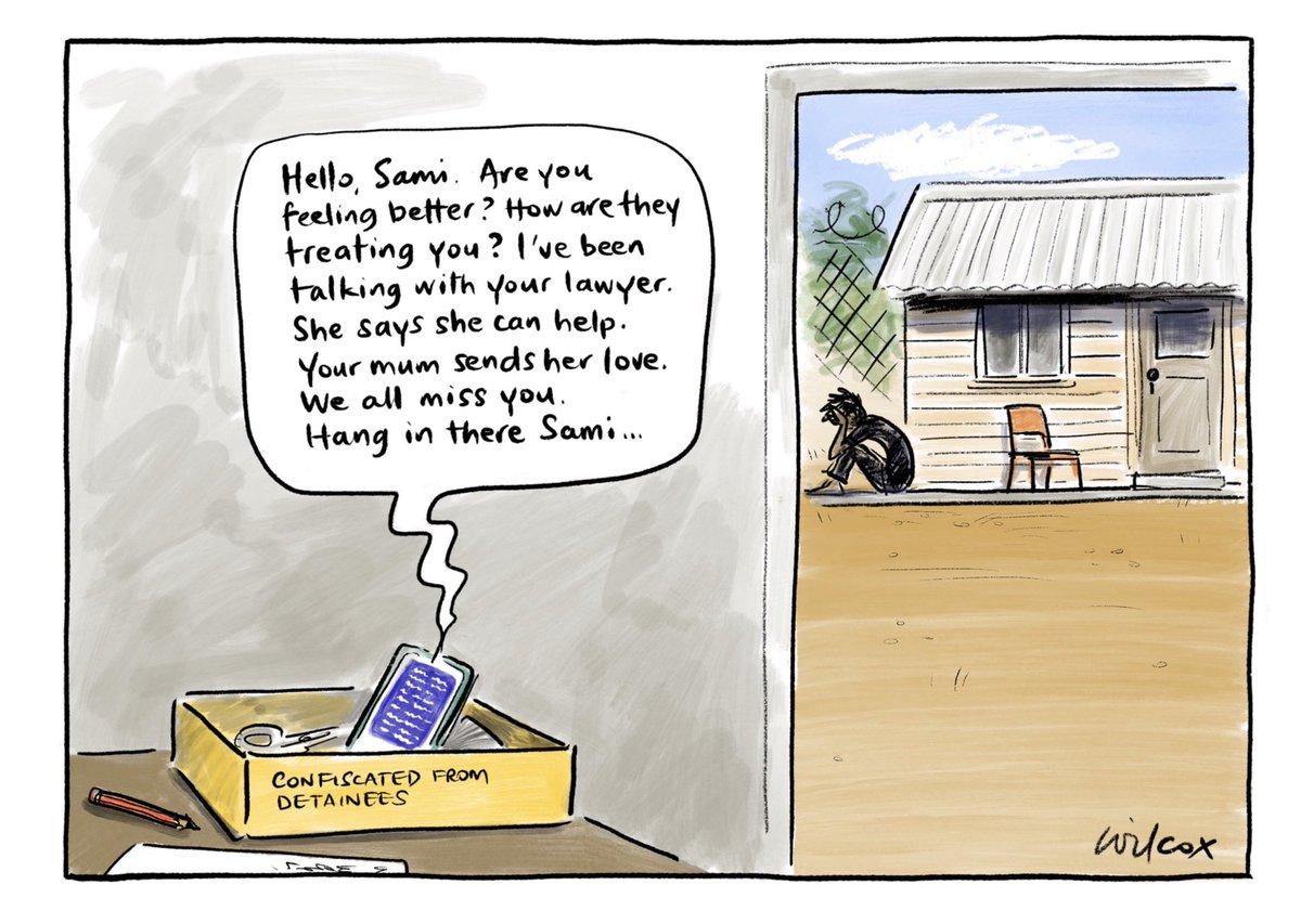 No phone, no life. My @smh @theage cartoon.