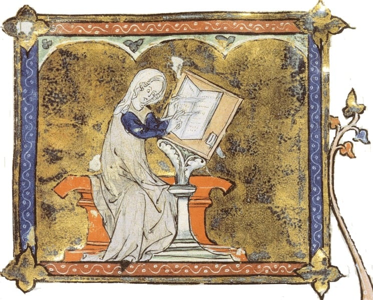 #DYK Marie de France–one of the 1️⃣st🇫🇷 female poets–wrote🧚♀️fairy tales🧚♂️ with 💪female leads who saved themselves from peril before meeting their prince🤴? Her prose challenged social norms and was ahead of its ⏳ in the 12th century. A revolutionary poet for #NoRhymeOrReasonDay https://t.co/UzKtn1Eyg8