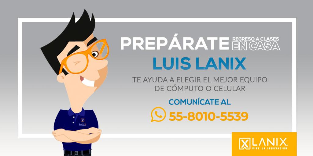 Te seguimos ayudando a elegir el mejor equipo para este regreso clases, envía un WhatsApp a tu amigo Luis Lanix y los mas pronto posible te atenderá en lo que estas buscando. https://t.co/y9LgIIsYxG 55-8010-5539   #30añoscreciendojuntos https://t.co/Secagg8DVP