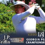 Image for the Tweet beginning: J.P. Griffin, PGA, leader of