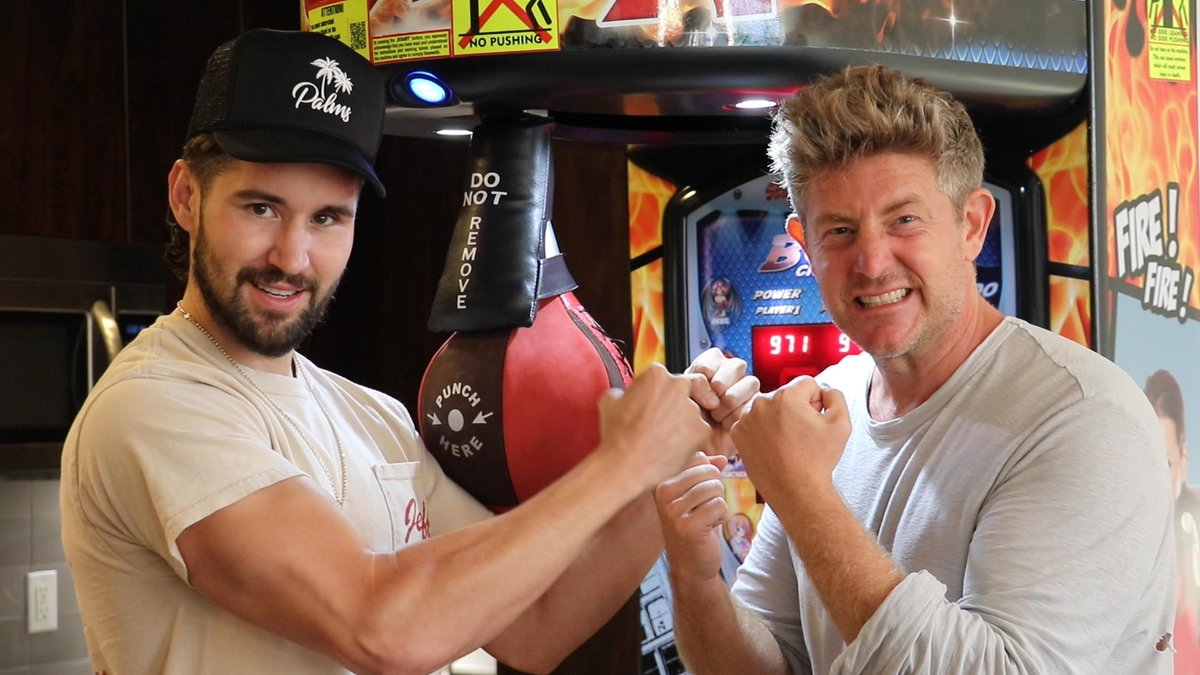 New video! We surprised Jeff an arcade game. youtu.be/yg62Efq_SJg