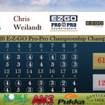 Image for the Tweet beginning: The scorecard from our winning
