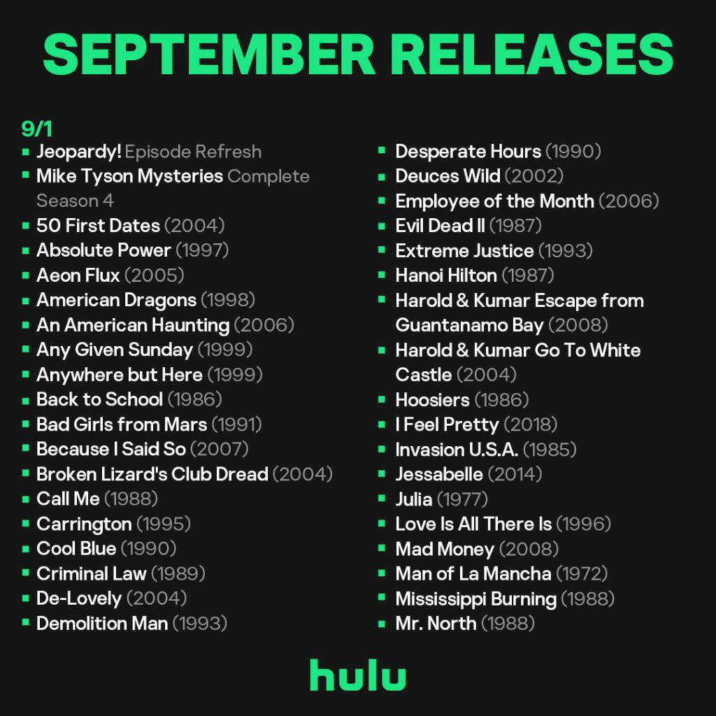 New month = new titles for you to watch 📅    Don't miss out on these ones 👇
