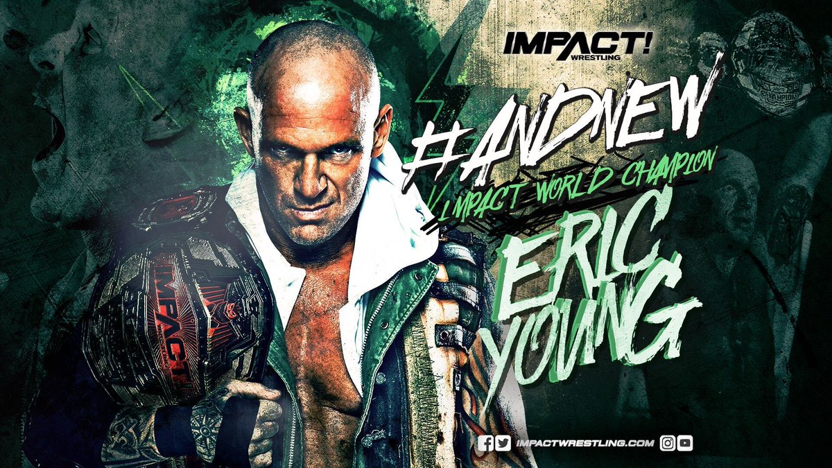 Eric Young Crowned New Impact World Champion